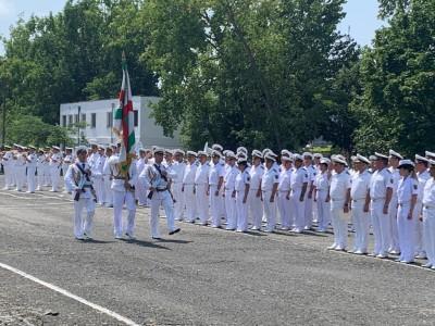 Фото-галерия от Бургас: Военноморските сили отбелязват 142-години от своето създаване