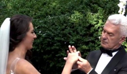 НСО бди над сватбата на Волен Сидеров и Деница! Проверяват всички гости и пиле не може да прехвъкне /СНИМКА/