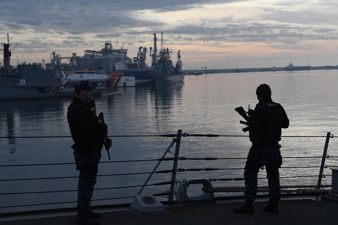 USS Porter Commences At-Sea Portion of Sea Shield 2017 Exercise hosted by Romanian Navy and featuring the participation of Bulgarian frigate Smeli