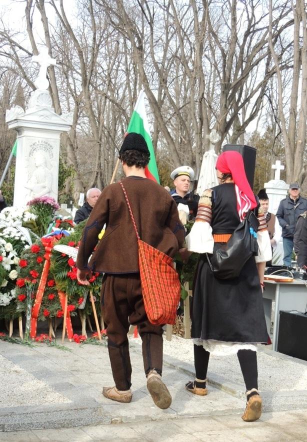 Bulgarian Navy participates in a ceremony dedicated to national hero Petko voivoda