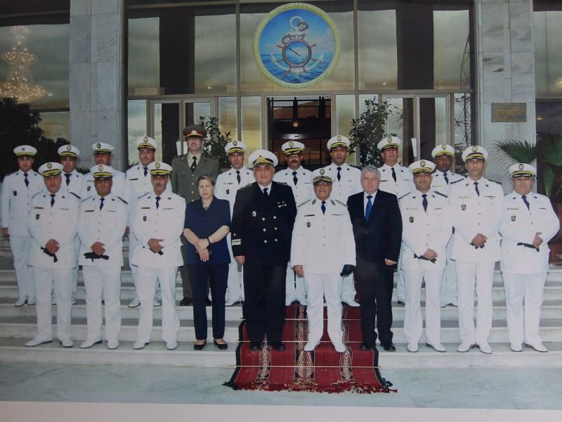 Снимки: Посещение в Алжир на Началника на ВВМУ флотилен адмирал професор д.в.н. Боян Медникаров