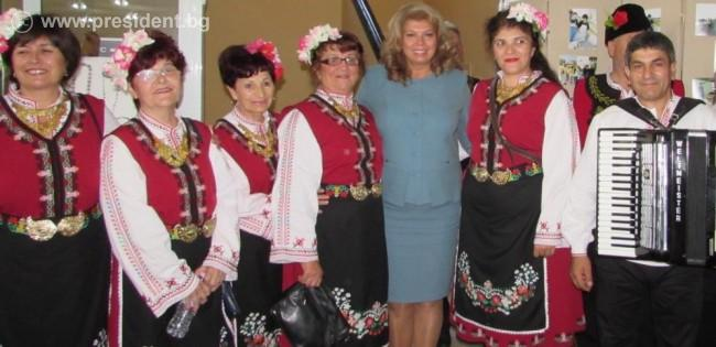 Вицепрезидентът Илияна Йотова в Одрин: Силата на един народ е в паметта за неговата история!