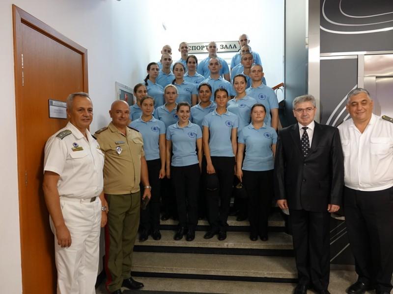 Старт на академичната учебна година за военните лекари