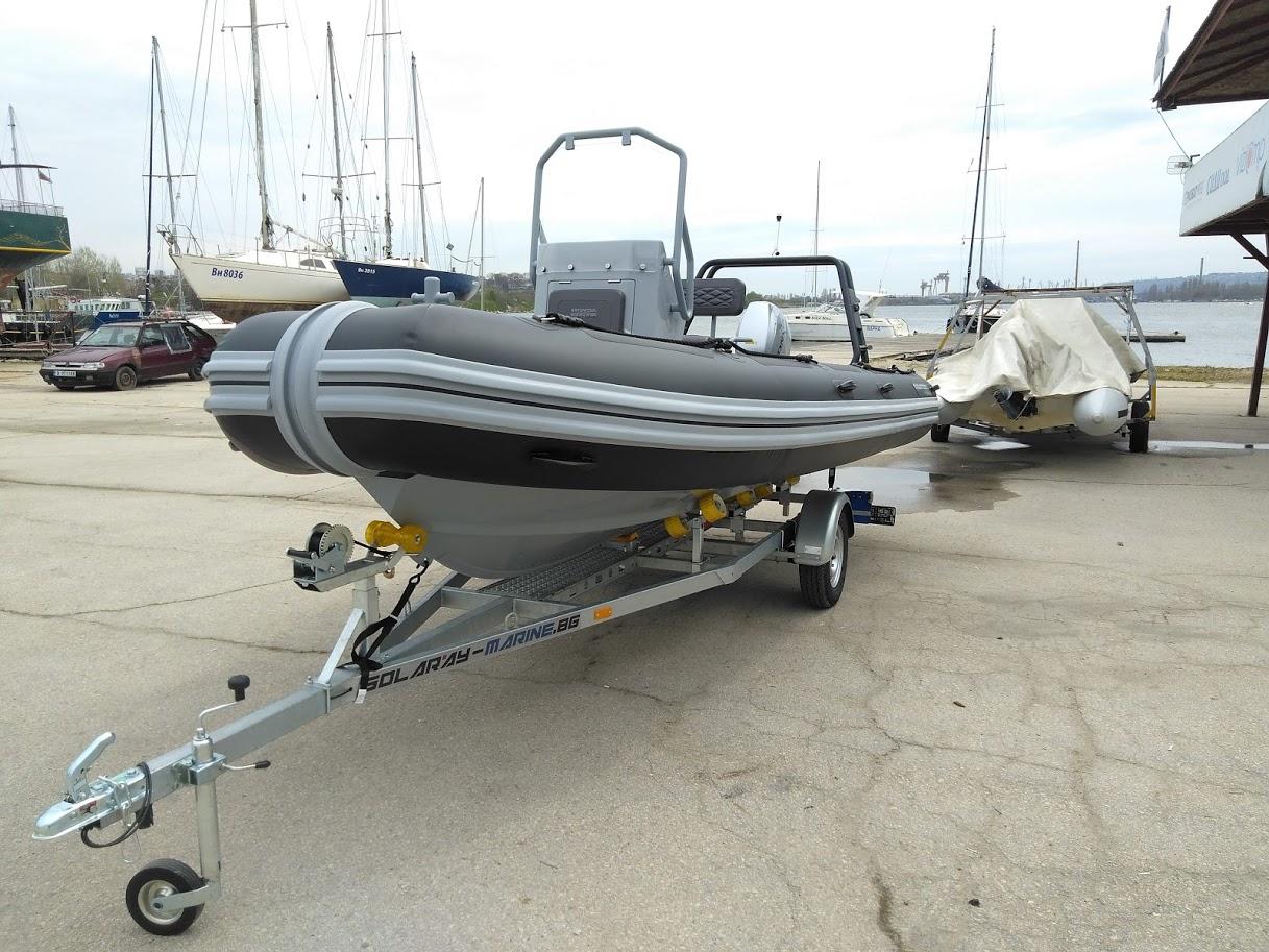 Българската федерация по ветроходство (БФВ) с нова лодка Highfield, тип Coaster 53