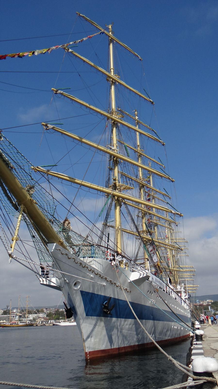ВЯТЪР В КОСИТЕ, ПЛАТНА В ОЧИТЕ - СПОМЕНИ ОТ SCF Black Sea Tall Ships Regatta 2016 (снимки)