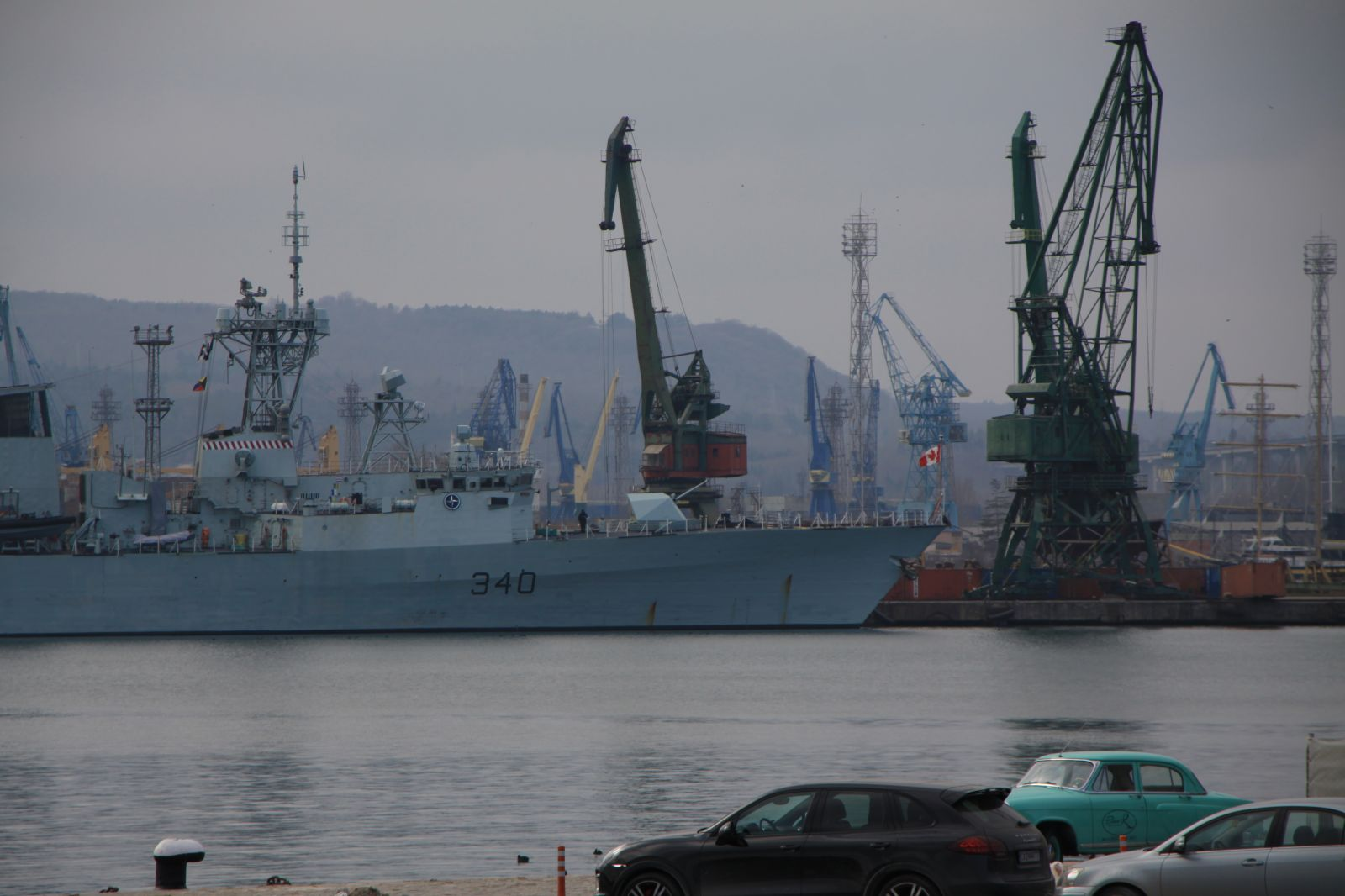 NATO Ships from SNMG2 arrive in Varna, Bulgaria for PASSEX 2017 Exercise (photo feature)