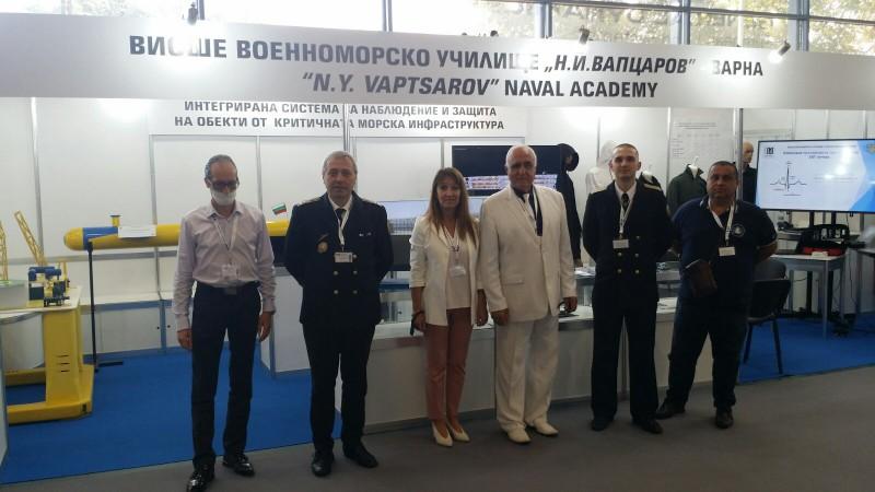 """ФОТО-ГАЛЕРИЯ: Морско училище на """"Хемус 2020"""" – най-голямото българско изложение за отбрана"""