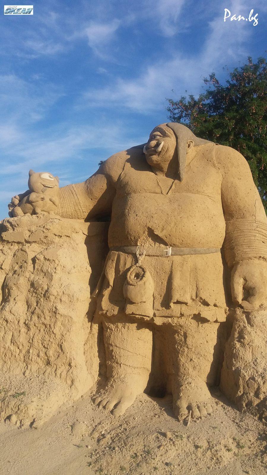 Атрактивно: Ще видим фигурите на Алиса, Пипи, Спондж Боб и Хари Потър в новото издание на Фестивала на пясъчните скулптури в Бургас
