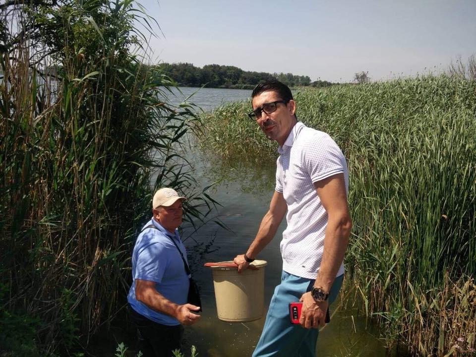 Акция по зарибяване на езерата в Шабла и Дуранкулак