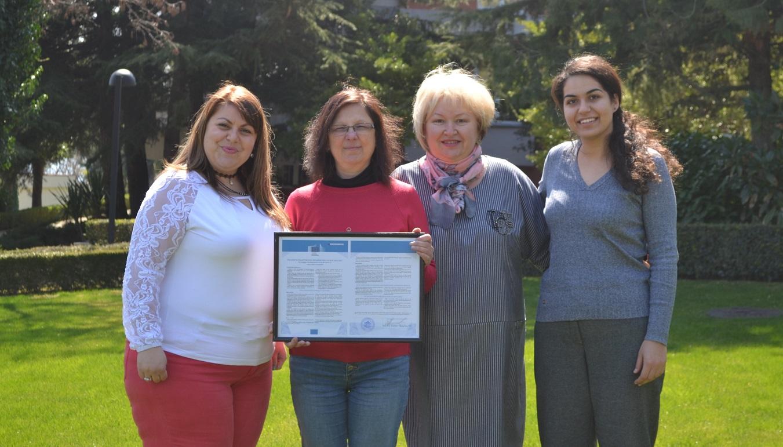 Европейската комисия присъди Еразъм харта за висше образование на Варненския свободен университет