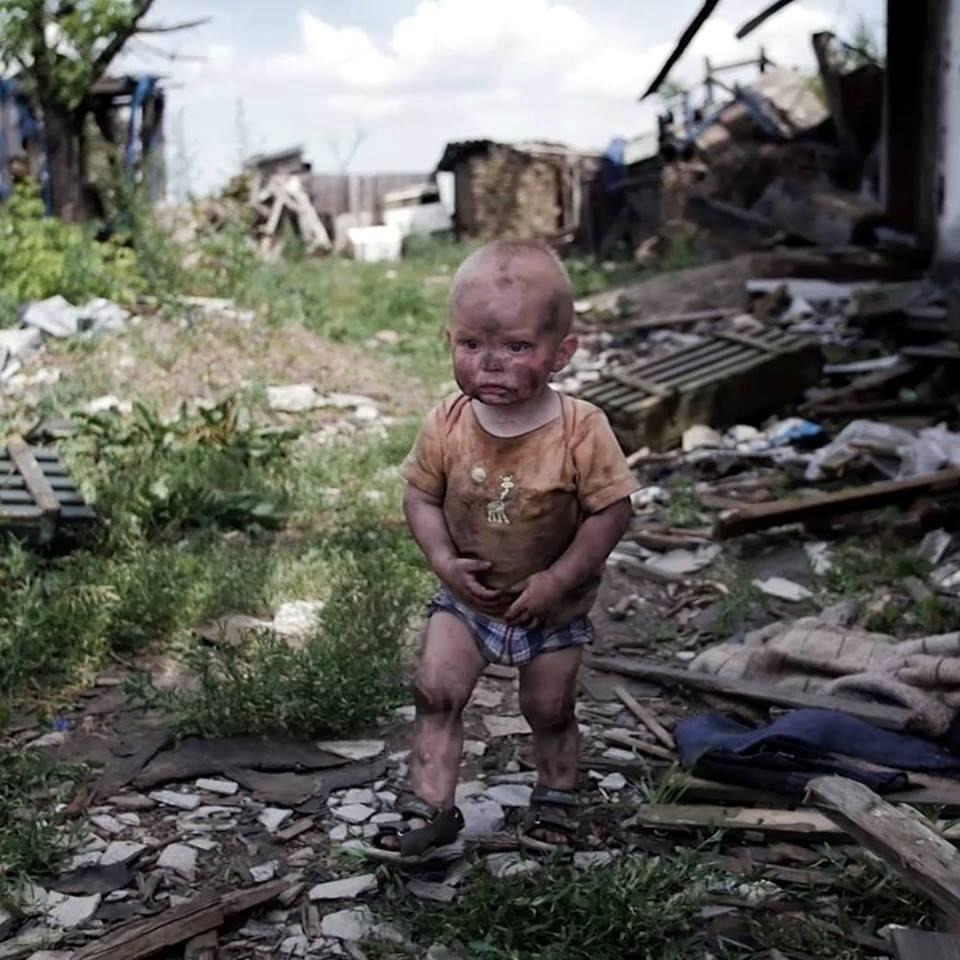 Дети донбаса война фото