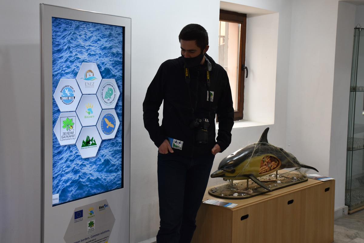 Обновление в Природонаучната експозиция на РИМ Бургас с акцент върху Черно море