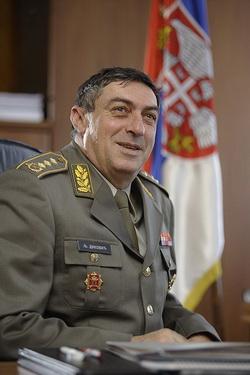заяви генерал Любиша Дикович