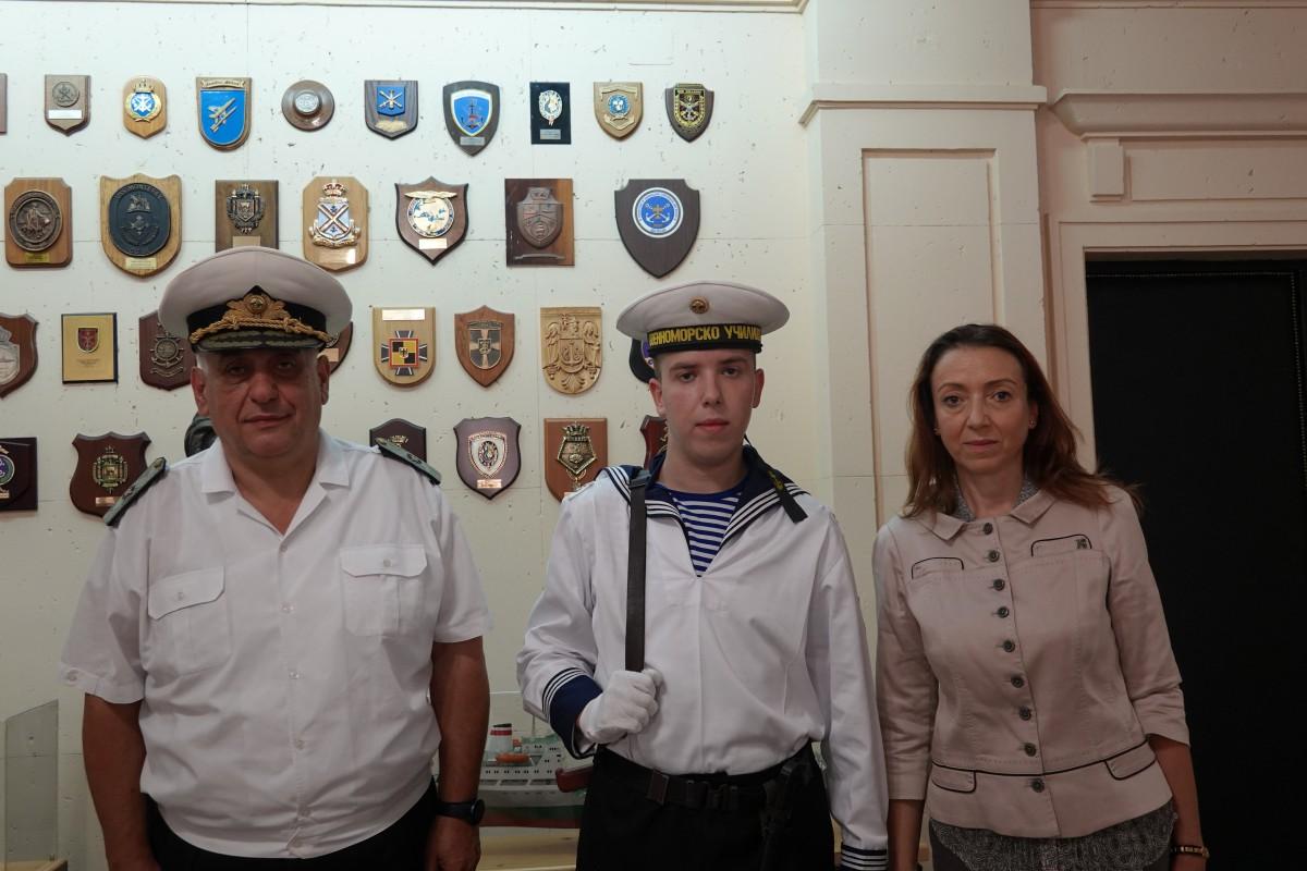 Фото-факт: Курсант – бъдещ военен лекар, положи клетва