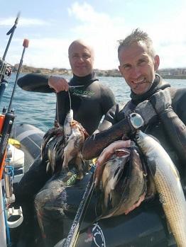 """""""Черноморец"""" и Валентин Люцканов са № 1 на Държавното първенство по подводен риболов"""