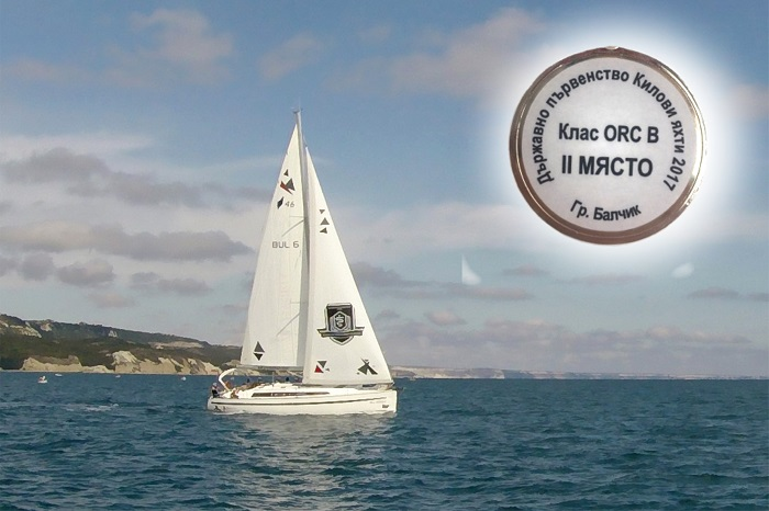 Младият отбор на МУ-Варна стана вицешампион на републиката по ветроходство в клас ORC-B