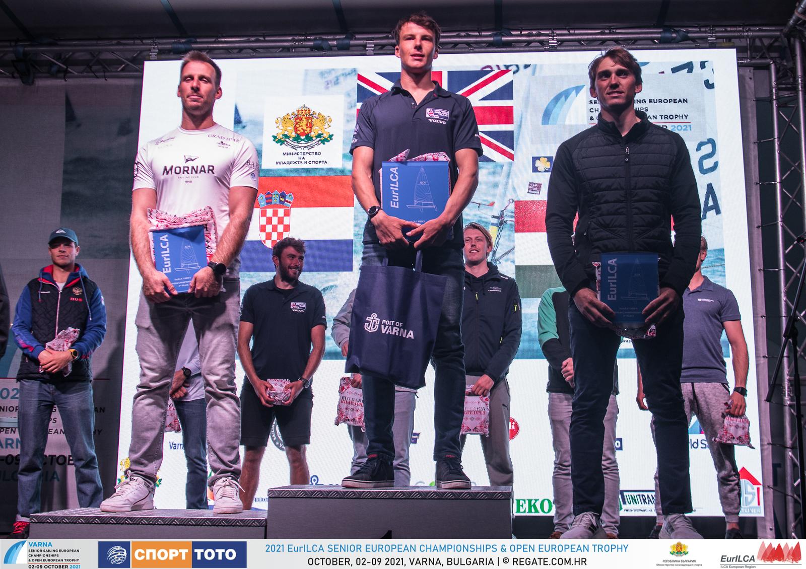 Наградиха победителите в Европейското първенство по ветроходство в клас ILCA