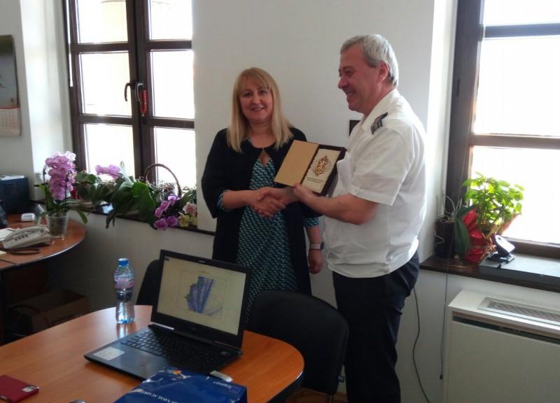 Община Бургас и Морско училище обсъждат съвместни иновативни проекти