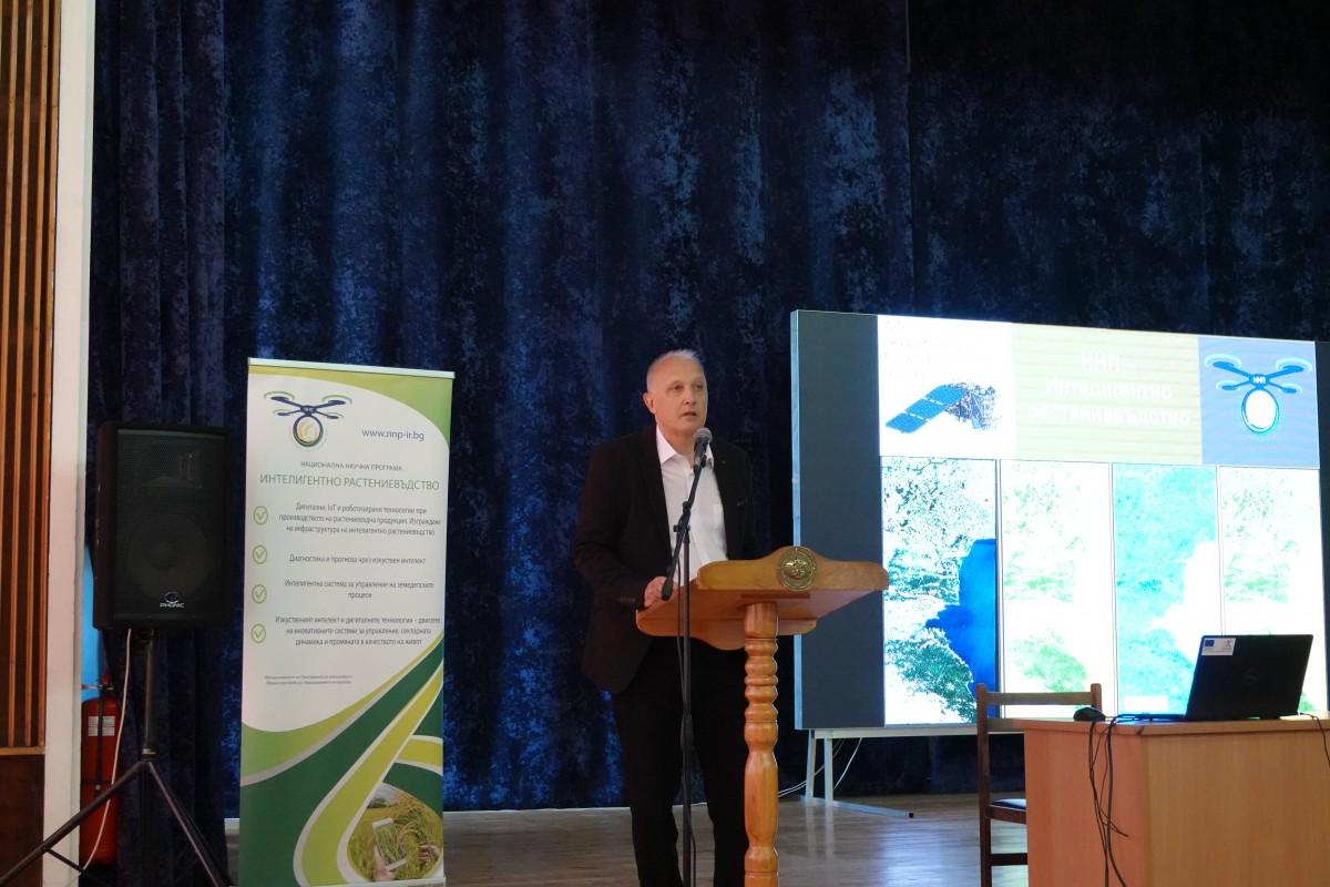 Морско училище – домакин на среща за високите технологии в аграрния сектор