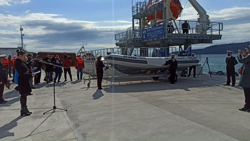 """""""Стрела"""" – новият плавателен съд на Морско училище"""