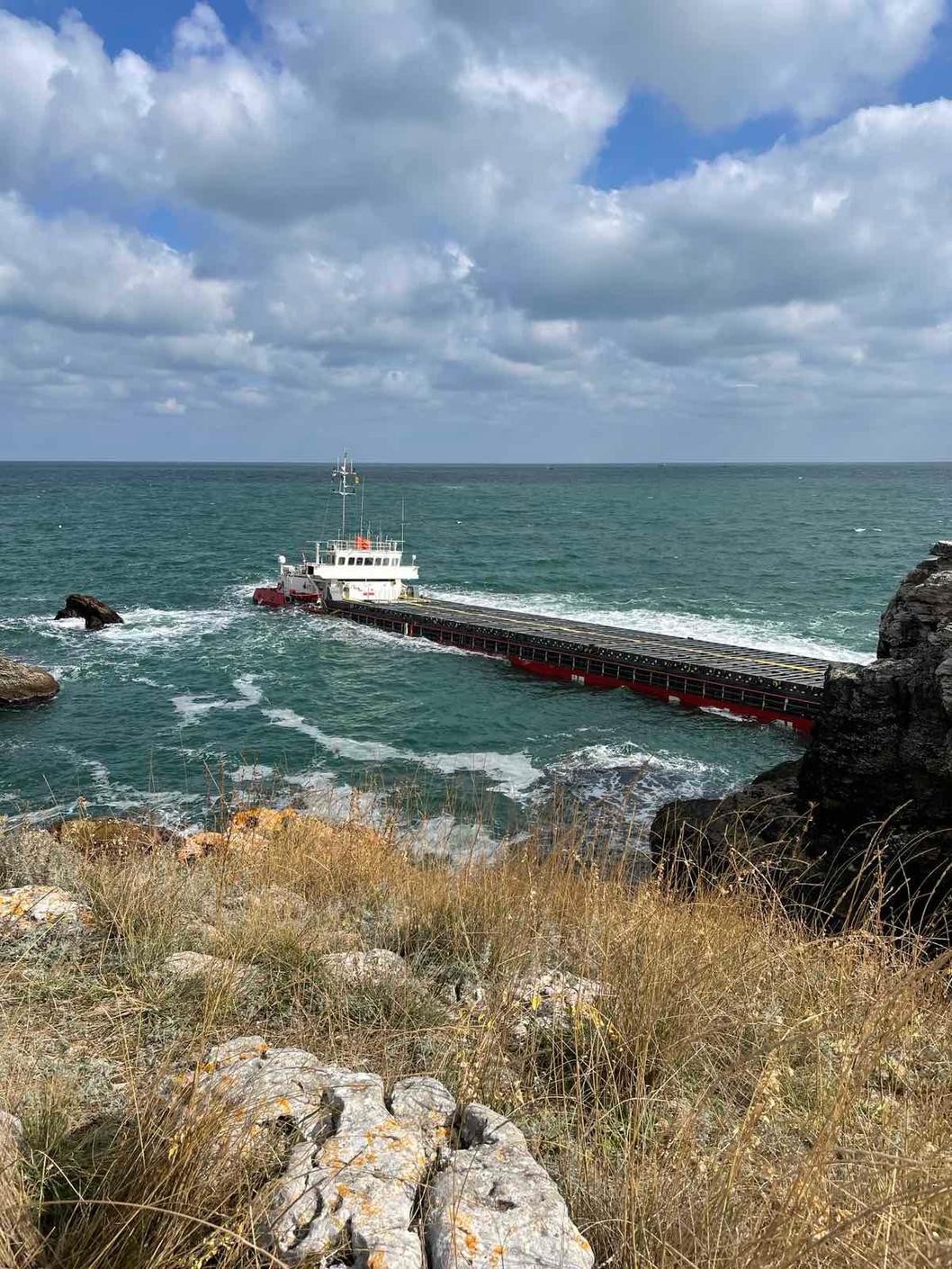 Направени са анализи по биологични елементи за качество на водите в района на авариралия кораб Vera Su