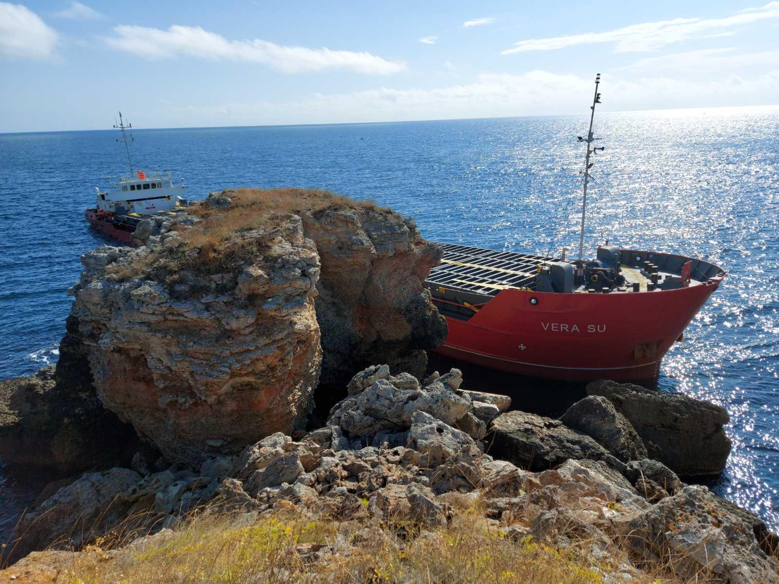 Под ръководството на Районна прокуратура – Добрич се изясняват причините за инцидент с товарен кораб край Каварна