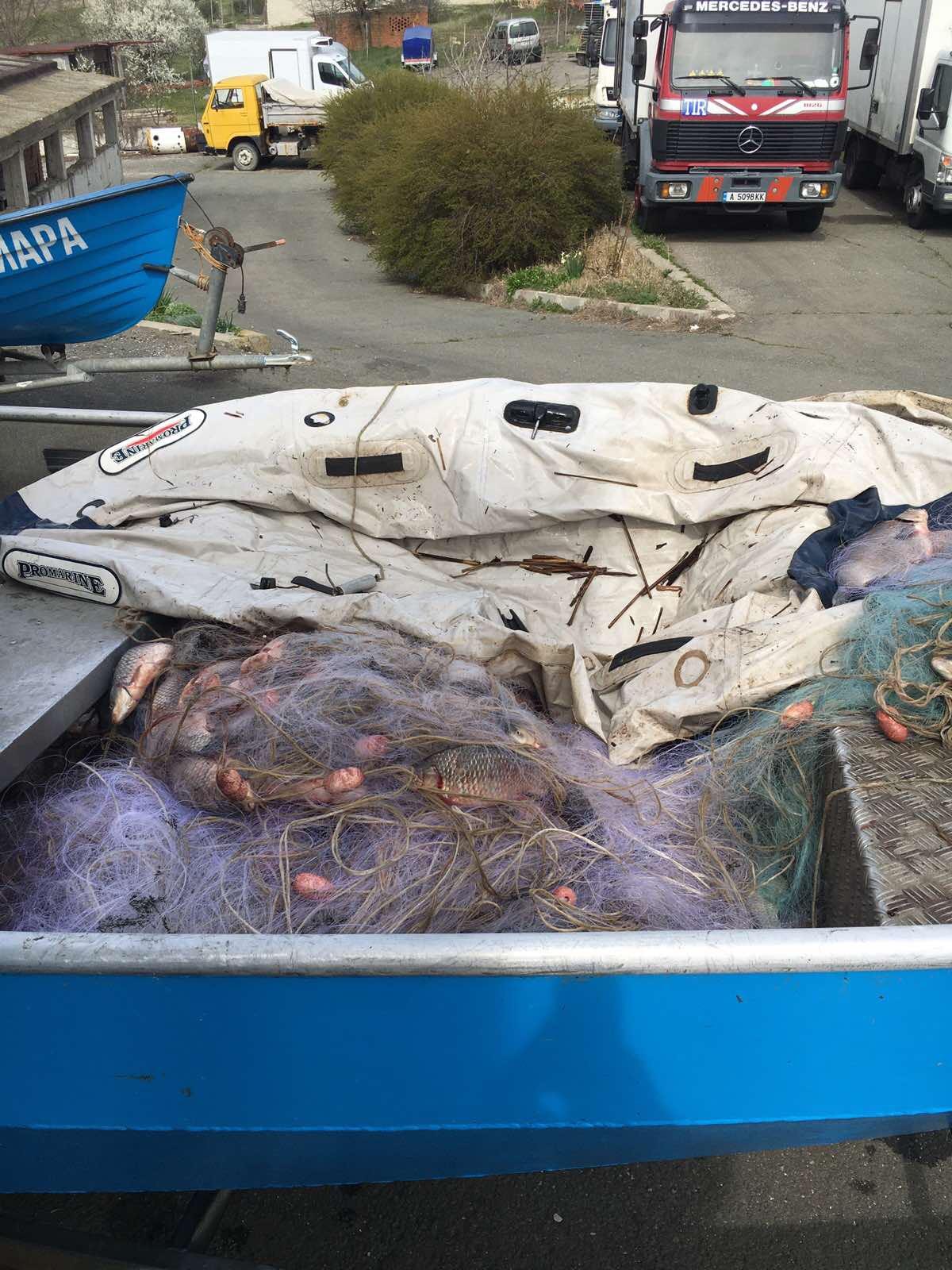 ИАРА дари 200 кг. риба на Дом за стари хора в Ямбол