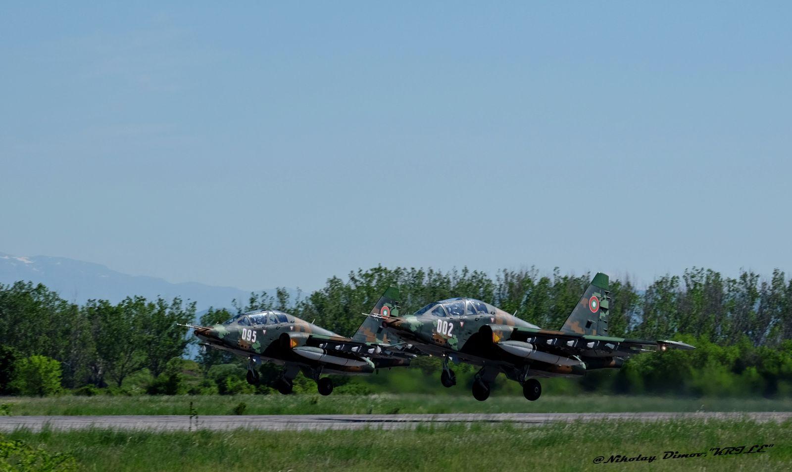 Невероятен 6 май и висок професионализъм на ВВС, демонстриран в авиобаза Граф Игнатиево (ФОТОГАЛЕРИЯ + видео)