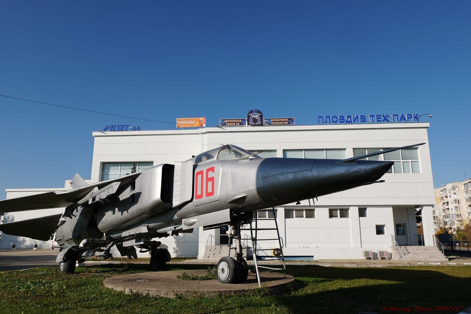 """""""Последен пристан"""" (част 10 – обновена): МиГ-23БН борд """"06"""" – Пловдив"""