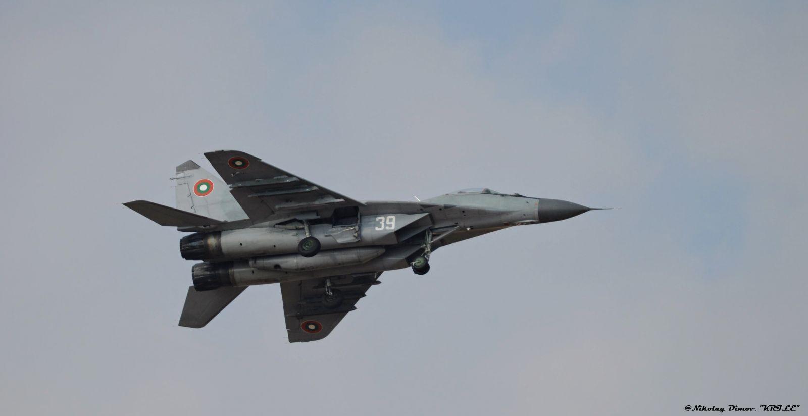 ПОЗДРАВИТЕЛНО СЛОВО НА КОМАНДИРА НА ВВС ГЕНЕРАЛ ЦАНКО СТОЙКОВ ПО СЛУЧАЙ 107 ГОДИНИ БЪЛГАРСКИ ВВС!