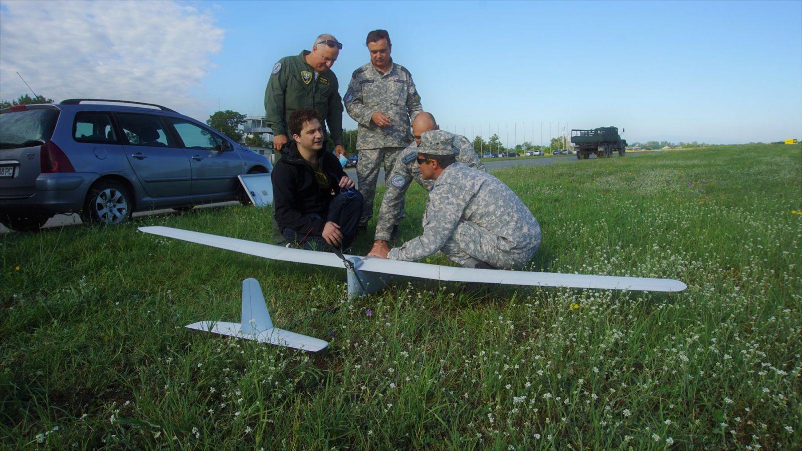 """Безпилотна летателна система за нуждите на съвременното обучение на слушатели и студенти придоби #ВоеннаАкадемия """"Георги С. Раковски""""!"""
