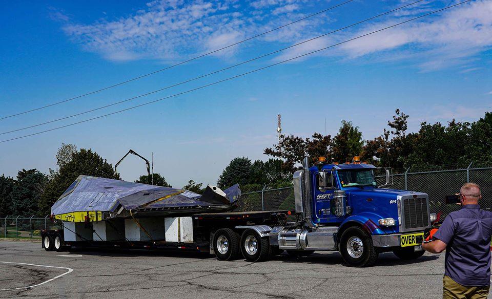 Още един F-117 Nighthawk отиде в музей (УНИКАЛНА ФОТОГАЛЕРИЯ)