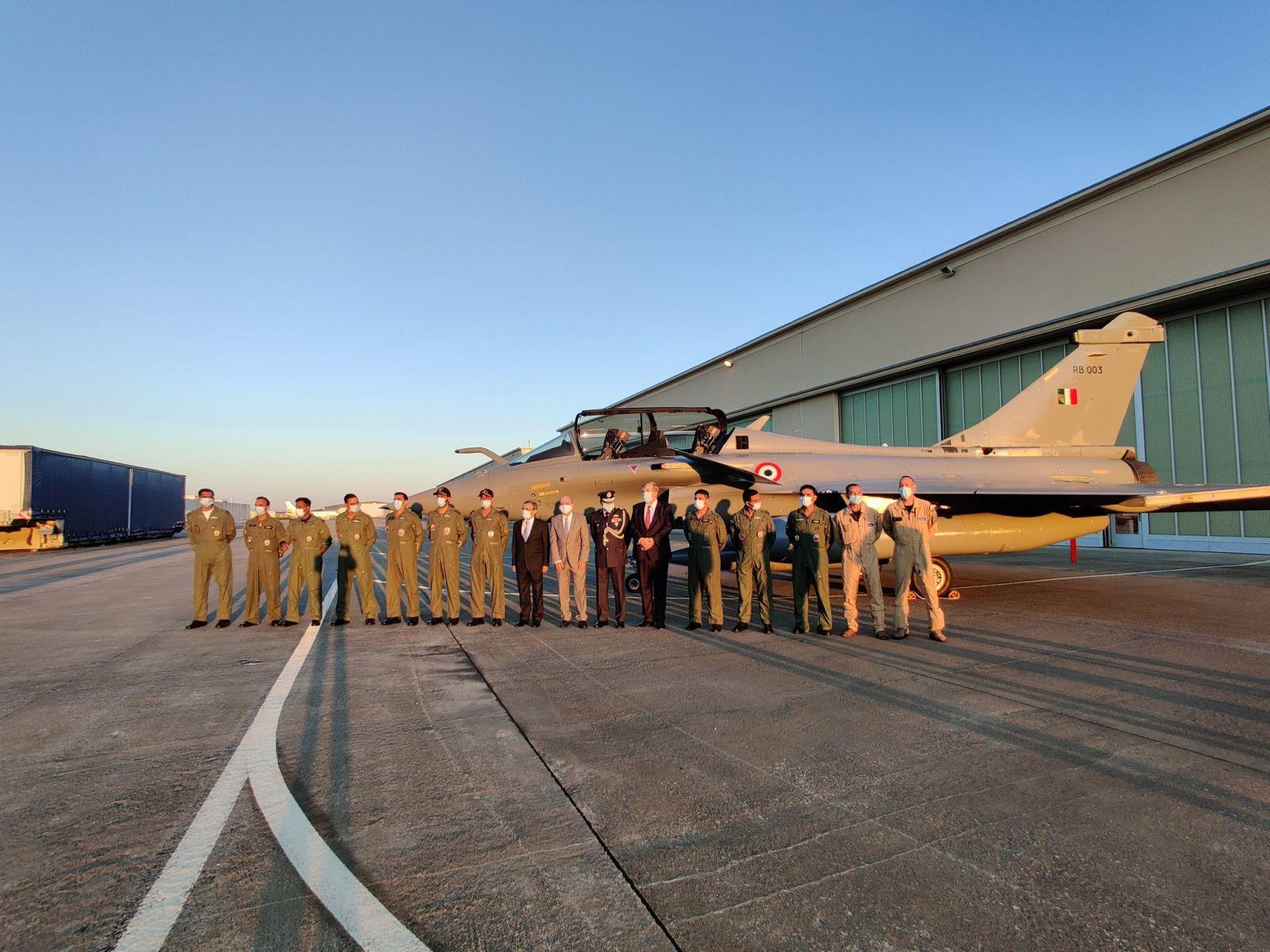 Започна доставянето на първата партида изтребители Rafale за индийските ВВС
