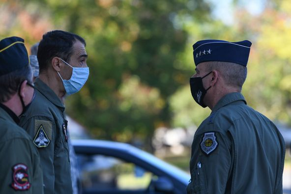 The commander of the USAFE visited Graf Ignatiewo AFB (Bulgaria)