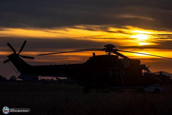 """Участието на ВВС в учението """"Балканска стена 2020"""" (фотогалерия)"""