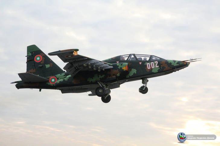 В БПР – Безмер вече изпълняват полети и с 4-те модернизирани Су-25