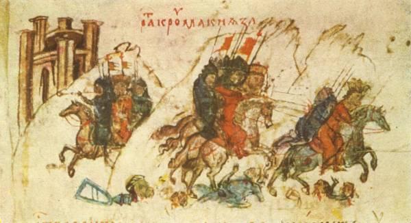 На днескашната дата войските на хан Кардам побеждава византийците ...