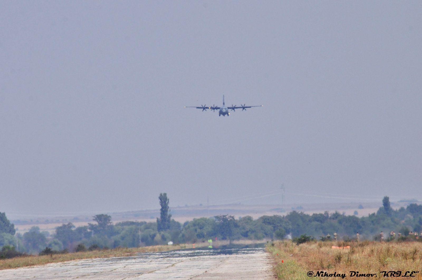 """""""Тракийско лято - 2021"""": Полети от пътен участък (фотогалерия)"""