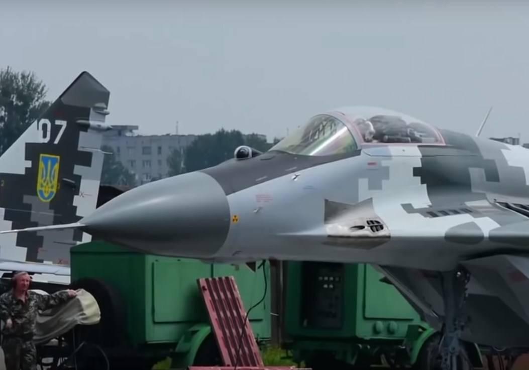 Украйна модернизира изтребителите си МиГ-29