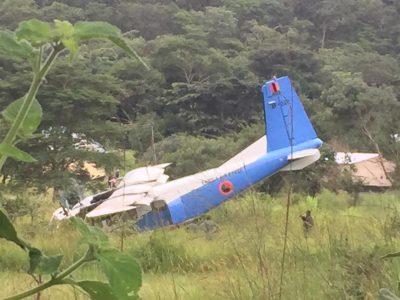 Инцидент с лек ВТС Y-12Е на замбийските ВВС (фотогалерия)