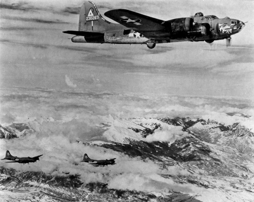 Резултат с изображение за англо-американска бомбардировка над Исперихско и Пордим, Плевенско.