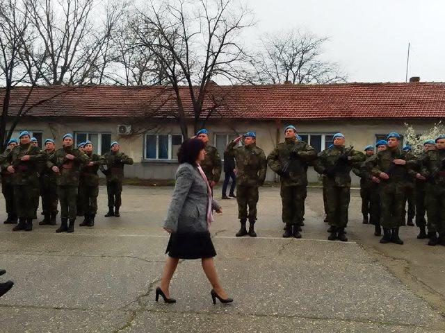 Тържественото честване на 75-годишнината от създаването на Парашутната дружина в 68-ма бригада Специални сили