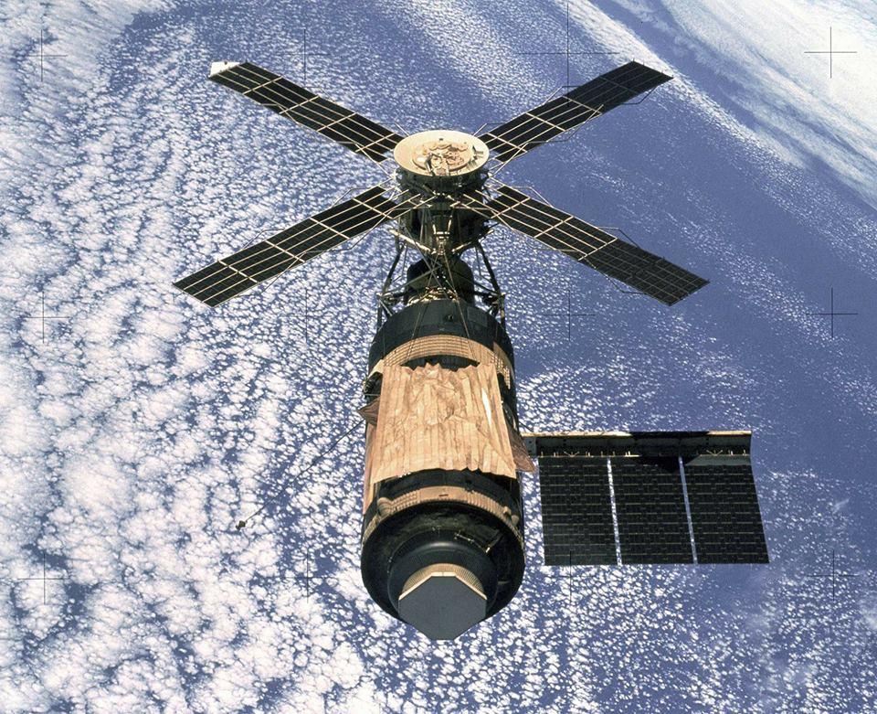 14 май 1973: Изстрелване на американска космическа станция ...