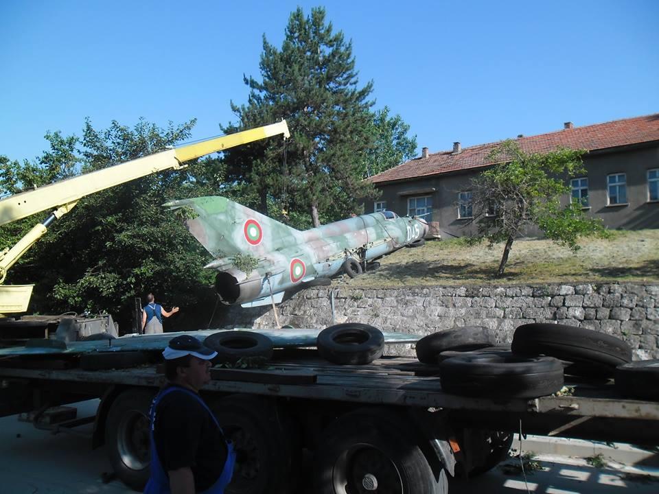 """Последният пристан за Миг-21бис борд """"045"""" (продължение)"""