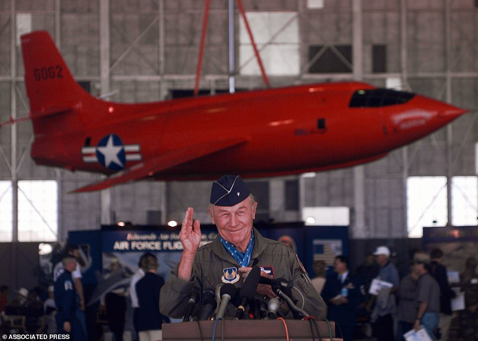 America's greatest pilot Chuck Yeager dies aged 97