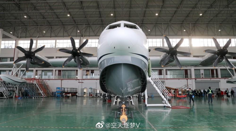 Китайският самолет-амфибия AG600 започва нов етап на летателни изпитания