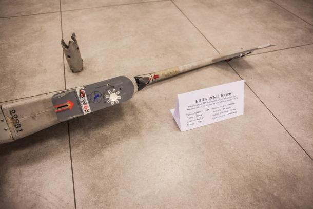 Силите на ДНР са свалили лек американски разузнавателен БЛА RQ-11B Raven