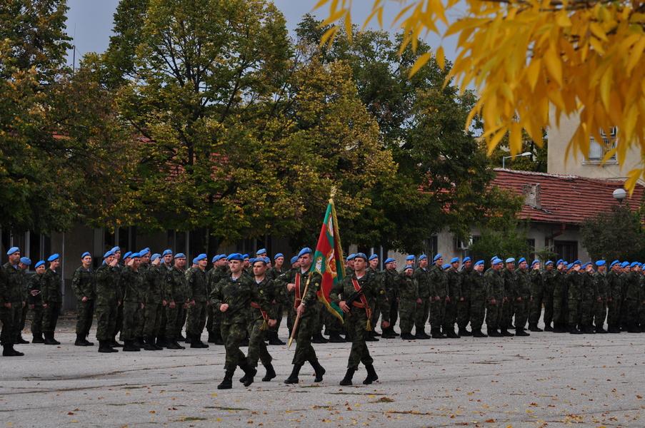 Тържествено отбелязване на празника на военния парашутист в 68-ма бригада Специални сили (видео и снимки)