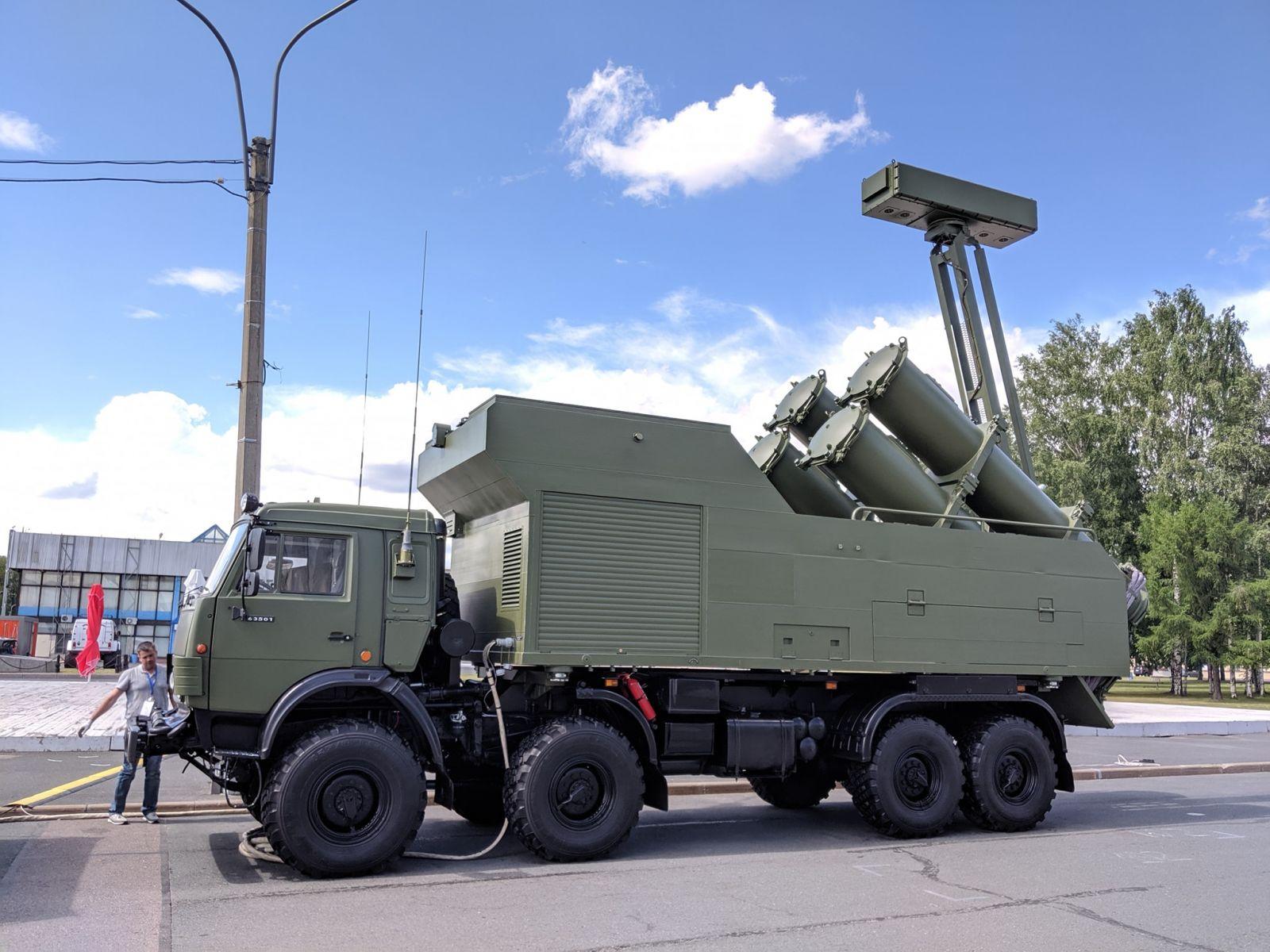 """Брегови противокорабен ракетен комплекс """"Рубеж-МЭ"""""""