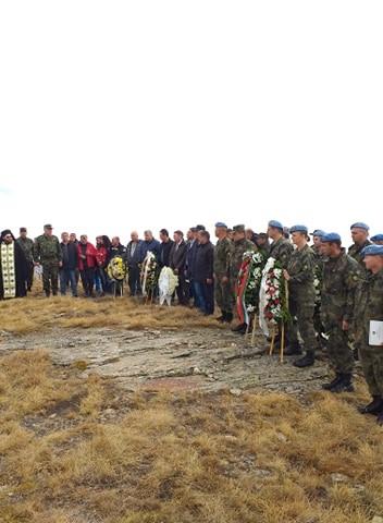 Българска делегация се качи на Каймакчалан